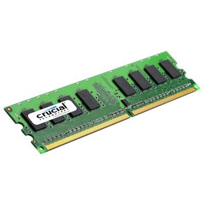 Crucial CT12864AA667 1GB DDR2 667MHz PC2-5300 Memory