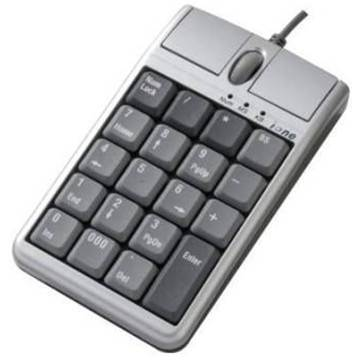 Qtronix iOne Scorpius N4 Numerical Keypad with Optical Mouse and Scroll Wheel USB