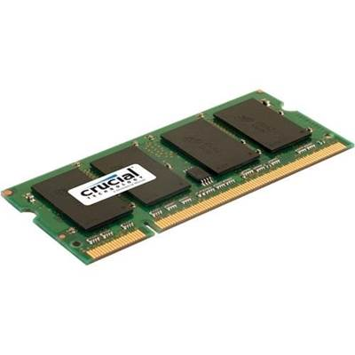 Crucial CT25664AC667 2GB DDR2 667MHz PC2-5300 Laptop Memory