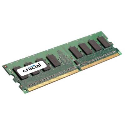 Crucial CT12864AA800 1GB DDR2 800MHz PC2-6400 Memory