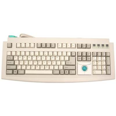Qtronix iOne Scorpius 95 Trackball Keyboard