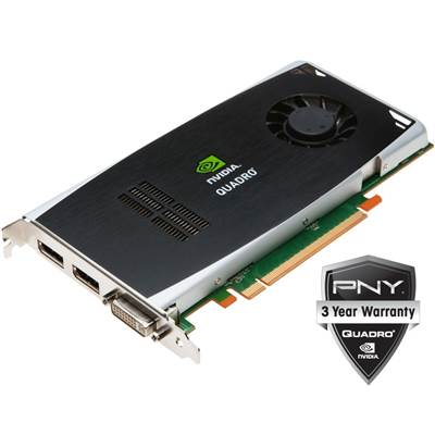 PNY NVIDIA Quadro FX 3800 VCQFX3800-PCIE-PB 1GB GDDR3 PCI Express 2.0 x16 Workstation Video Card