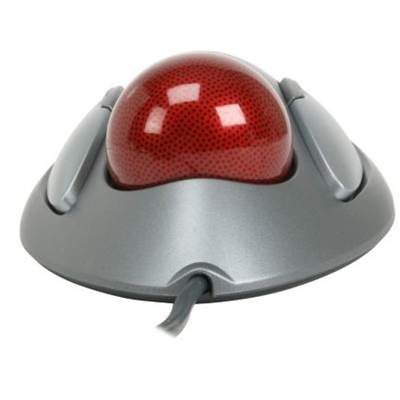 Logitech 910-000806 TrackMan Marble USB Wired Optical Trackball Mouse