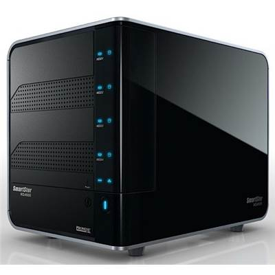 Promise SmartStor NS4600 8TB (4 x 2000GB) 4-bay NAS Server