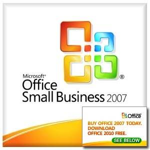 Microsoft 9QA-01757 Office Small Business 2007 English - OEM