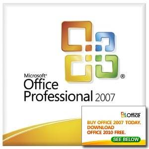 Microsoft 269-14071 Office Professional 2007 English - OEM