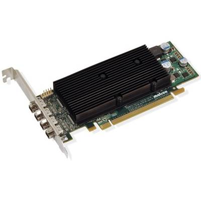 Matrox M9148-E1024LAF 1GB GDDR2 PCI Express x16 Low Profile Workstation Video Card