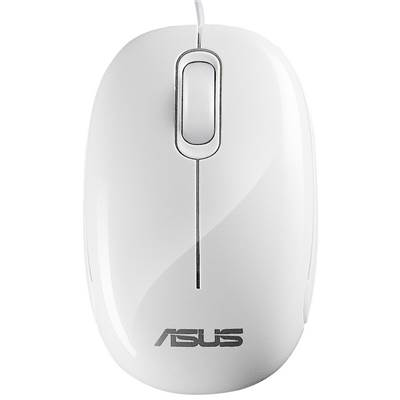 ASUS Seashell USB Optical Mouse - Seashell White ( ASUS special order)