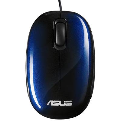 ASUS Seashell USB Optical Mouse - Seashell Blue
