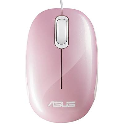 ASUS Seashell USB Optical Mouse - Seashell Pink