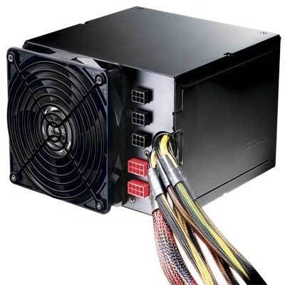 Antec CP-1000 1000W ATX12V  /  EPS12V Active PFC Power Supply