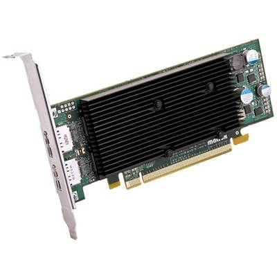 Matrox M9128-E1024LAF 1GB GDDR2 PCI Express x16 Low Profile Workstation Video Card