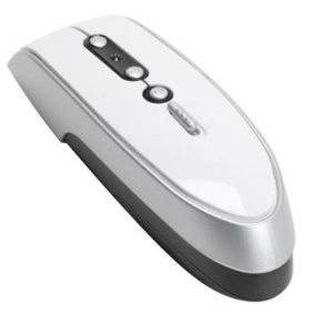 Qtronix iOne Lynx P2 RF Wireless Laser Presenter Mouse with Laser pointer