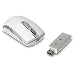 Qtronix iOne Lynx R7 Wireless Optical Mouse - White