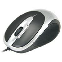 Qtronix iOne Lynx S2 7-Button Laser Gaming Mouse - Silver