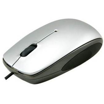 Qtronix iOne Lynx R23 Laser Mouse - Silver