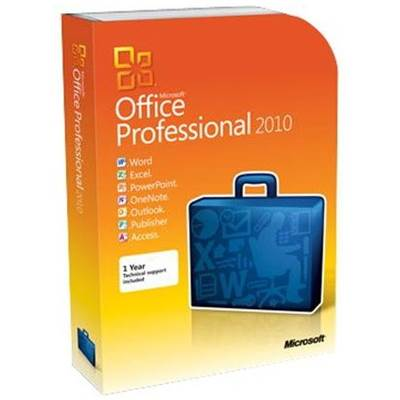 Microsoft Office Professional 2010 - Retail