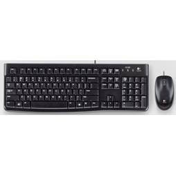 Logitech MK120 920-002565 USB Desktop Keyboard & Mouse