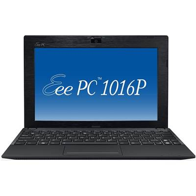 "ASUS Eee PC 1016P Seashell 320GB Professional 10.1"" Netbook - Black"