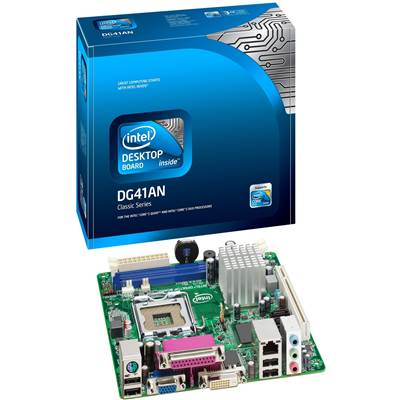 Intel BLKDG41AN Intel G41 LGA 775 Mini ITX Intel Desktop Motherboard- 10 Pack