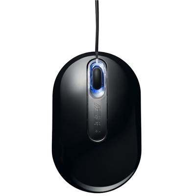 ASUS UT250 USB Optical Mouse - Black