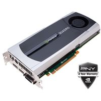 PNY NVIDIA Quadro 5000 VCQ5000-PB 2.5GB GDDR5 PCI Express 2.0 x16 Workstation Video Card
