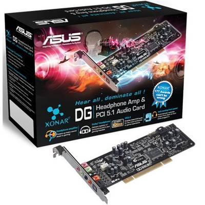 ASUS Xonar_DG 5.1 Channels PCI Sound Card