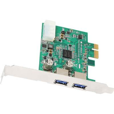 Acom Data AcomData ADPU3-PCIX SuperSpeed USB 3.0 2-Port PCI Express IO Card