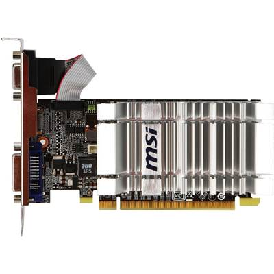 MSI GeForce GS 8400 N8400GS-D1GD3H 1GB DDR3 PCI Express 2.0 x16 Video Card - Low Profile ...