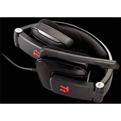 Thermaltake HT-SHK002ECBL eSPORTS SHOCK Foldable Dimaond Gaming Headset - Black
