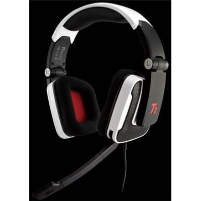 Thermaltake HT-SHK002ECWH eSPORTS SHOCK Foldable Dimaond Gaming Headset - White