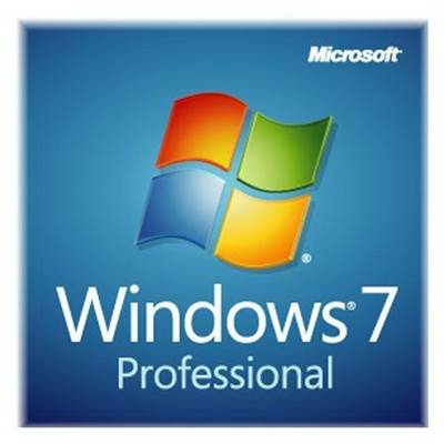 Microsoft Windows 7 Professional SP1 64-bit English 3-Pack - OEM