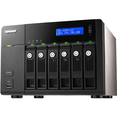 QNAP TS-659 Pro II 15TB (5 x 3000GB) Hitachi Deskstar 5K3000 (Power Saving)