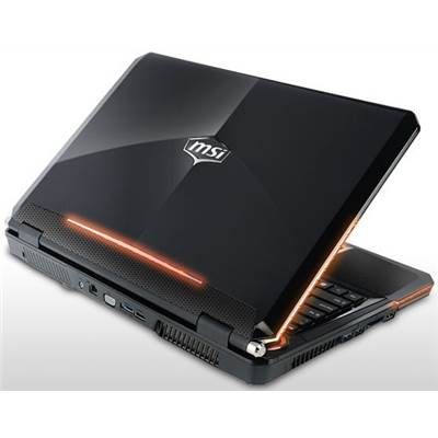 "MSI GX680 15.6"" Gaming Notebook"