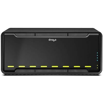 Drobo B800i 10TB (5 x 2000GB) 8-bay NAS Server - Powered by Western Digital Caviar Black (Consumer)