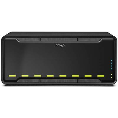 Drobo B800fs 8TB (4 x 2000GB) 8-bay NAS Server - Powered by Western Digital Caviar Black (Consumer)