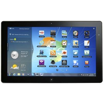 "Samsung Series 7 Slate XE700T1A-A03US 11.6"" 128GB Windows 7 Tablet"