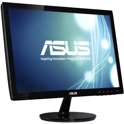 "ASUS VS197D-P 18.5"" LED Backlight Widescreen LCD Monitor"