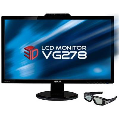 "ASUS VG278H 27"" 3D-Ready LED Backlight Widescreen LCD Monitor w /  NVIDIA 3D Vision Kit"