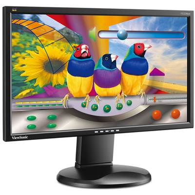 "ViewSonic Graphic VG2228WM-LED 21.5"" LED Backlight Widescreen LCD monitor"