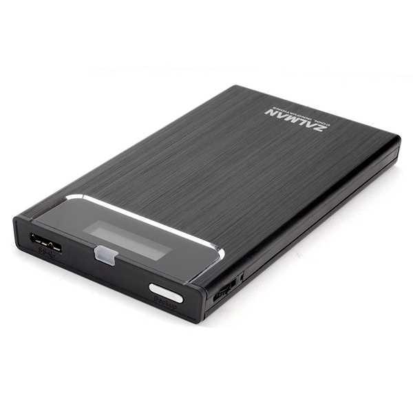 "Zalman ZM-VE300-B 2.5"" USB3.0 External Hard Drive Case"