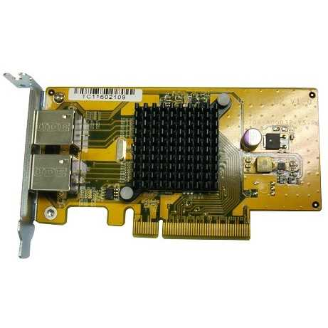 QNAP LAN-1G2T-U Dual-port 1 GbE Card for TS-x70U & TS-x79U Series