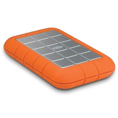 LaCie Rugged Triple 301983 500GB 7200RPM USB 3.0  /  2.0  /  Firewire 800 Portable Drive