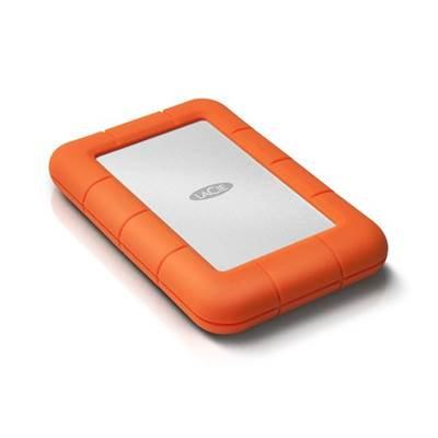 LaCie Rugged Mini 301555 500GB USB 3.0 Portable Drive