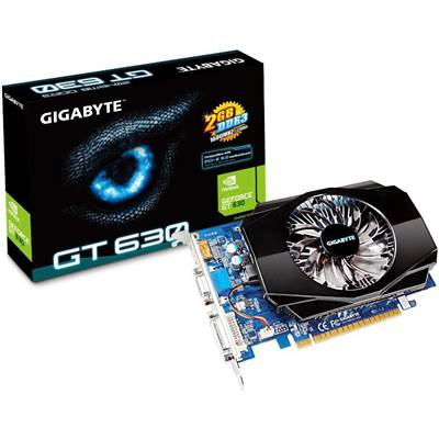 Gigabyte GeForce GT 630 2GB DDR3 PCI Express 2.0 x16 Video Card (GV-N630-2GI)