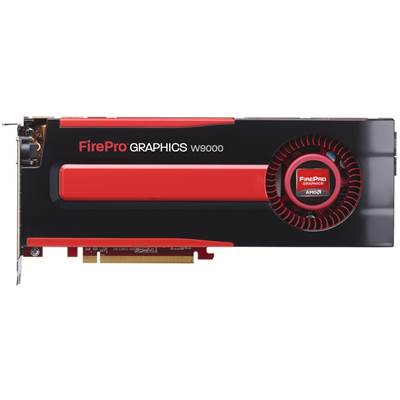 AMD FirePro W9000 100-505859 (100-505632) 6GB GDDR5 PCI Express 3.0 x16 Workstation Graphics Card