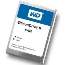 Western Digital SiliconDrive II SSD-D08GI-4500 8GB Compact Flash (CF) PATA Solid State Drive (SSD)