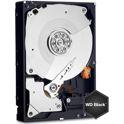 "Western Digital Black WD4001FAEX 4TB 3.5"" SATA 6.0Gb  /  s Hard Drive"