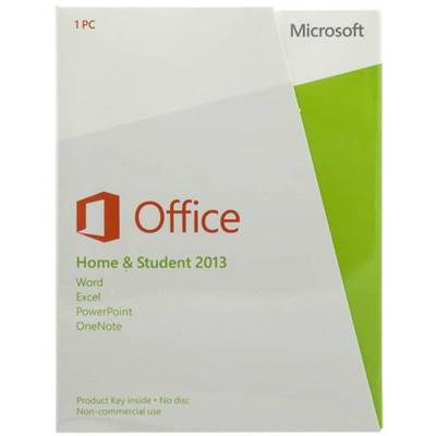 microsoft office home and student 2013 product key card 1 pc