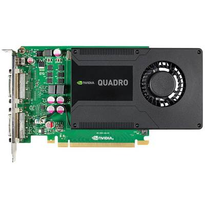 PNY NVIDIA Quadro K2000D VCQK2000D-PB 2GB GDDR5 PCI Express 2.0 x16 Workstation Video Card